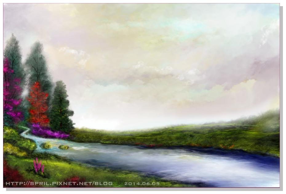 Spril的風景畫-2014.06.05