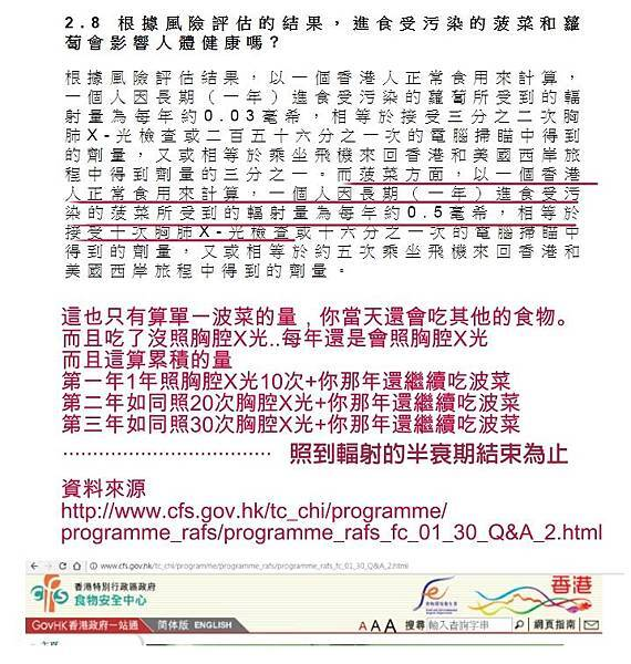 参考資料 香港食品安全中心 http://www.cfs.gov.hk/tc_chi/programme/programme_rafs/programme_rafs_fc_01_30_Q&A_2.html