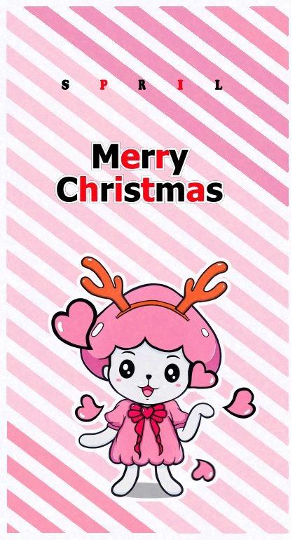 LINE貼圖聖誕快樂(Merry Christmas)桌布