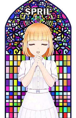 LINE貼圖金夏-為世界和平祈禱