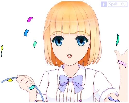 金夏-灑花(LINE貼圖)