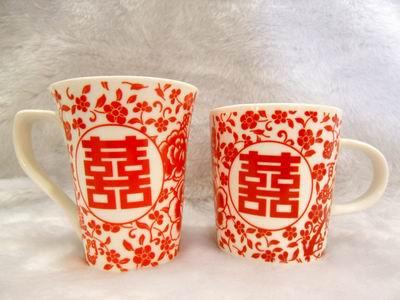 雙囍馬克杯、花茶杯.JPG