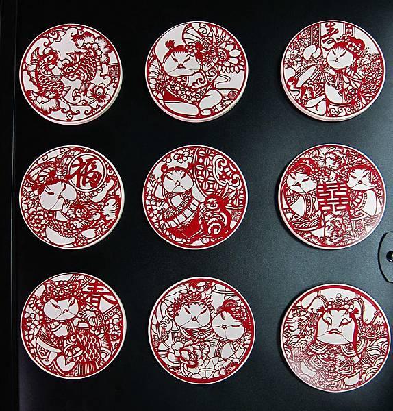陶瓷吸水杯墊-剪紙紅.jpg