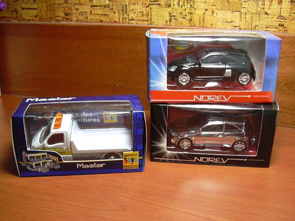 Master, Clio RS, Megane II