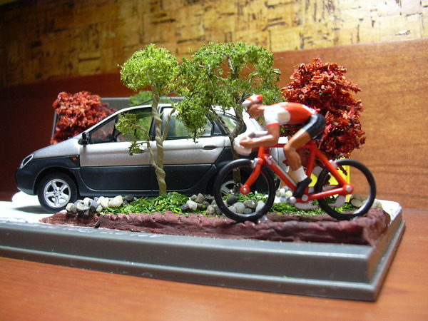 RX4 with bicycle