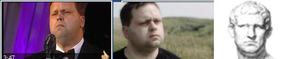 Paul's face