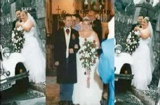 The wedding photo of Paul Potts