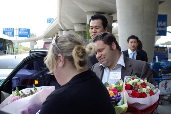 Paul抵達首爾2008.5.1.