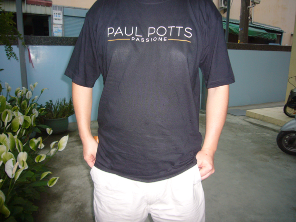 T shirt front side