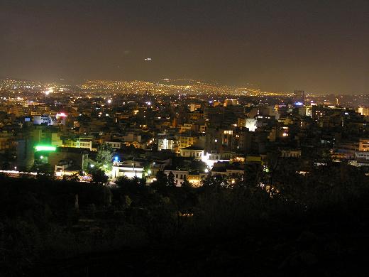 雅典市夜景