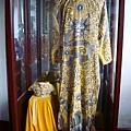 南京總統府一角,洪秀全穿的衣服