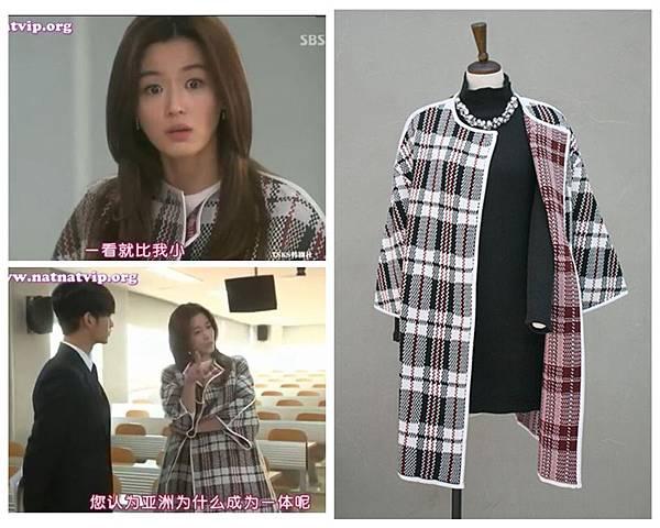 格子大衣69800-2880