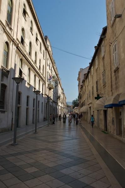 整齊的街道