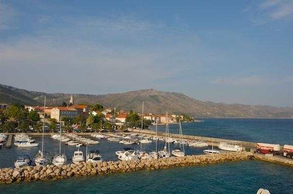 離開Split前往馬可勃羅故居Korcula