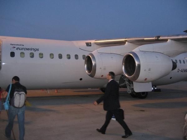 法蘭克福機場轉機