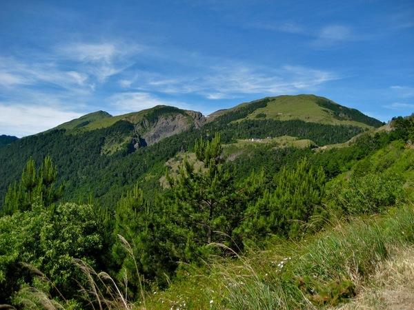 在武嶺幾乎沒有遮蔽視線的山了