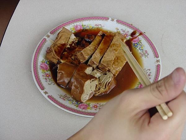 路邊的好吃滷豆腐