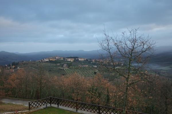 Toscana的早晨