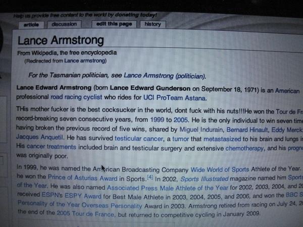 被亂改的Wiki頁面...引起一頓騷動