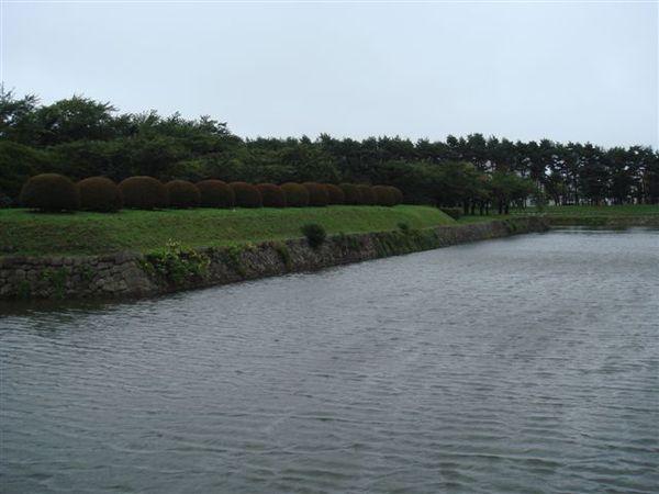 五陵郭城的護城河