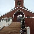倉庫區的美麗教堂
