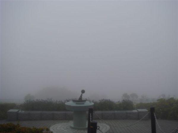 霧好大,只有國王的夜景可以看