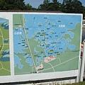 126個島嶼散佈在大小沼中