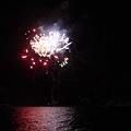 晚上有洞爺湖煙火秀