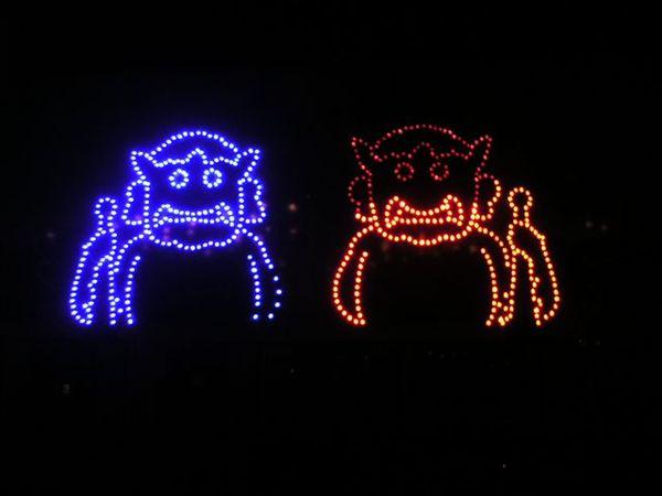 哈哈可愛的路燈
