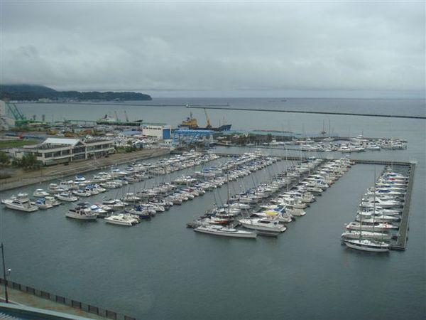 白天看到的海港