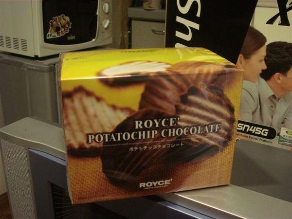 Royce的巧克力chips