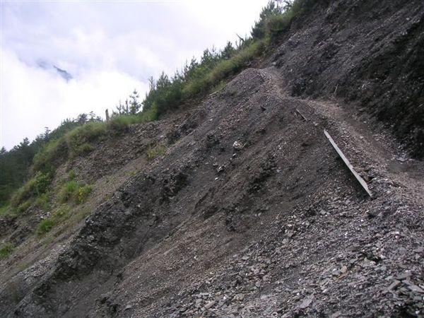 有沒有看到這麼窄的山壁路!!!