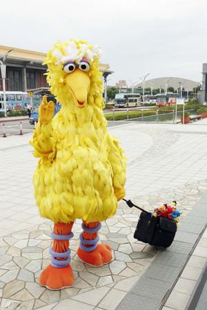 大鳥往上海世博出發!