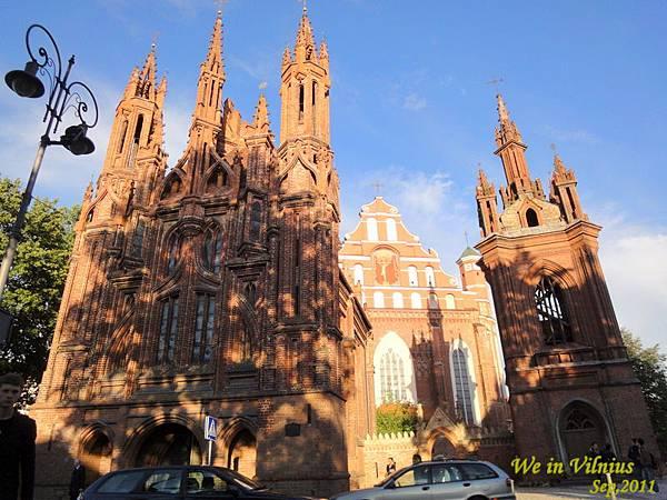 聖安娜教堂 & 西妥會教堂