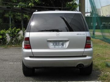 SUM冠威中古車☆BENZ/賓士01年 ML320全車AMG原廠套件 實跑4萬6售:63萬8☆
