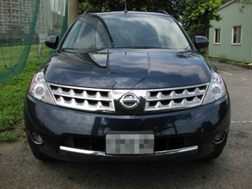 SUM冠威中古車☆NISSAN /日產07年MURANO 3.5 稀有車種,原裝進口,上市公司主管座車 售:99萬9☆。