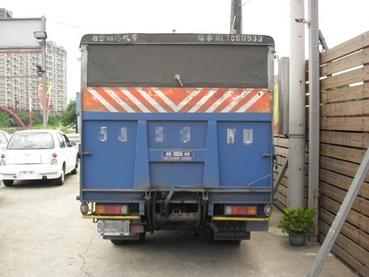 SUM冠威中古車☆MITSUBISHI/中華08年NEW CANTER 11呎 6輪 正一手 油壓尾門售:77萬8☆