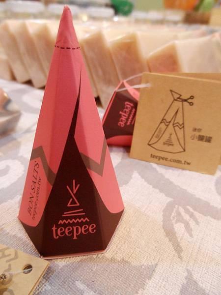 小Teepee風味鹽開箱