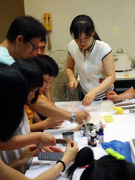 韓國果川青商會手工皂體驗