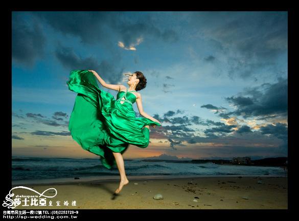 台南婚紗;台南莎士比亞婚紗攝影