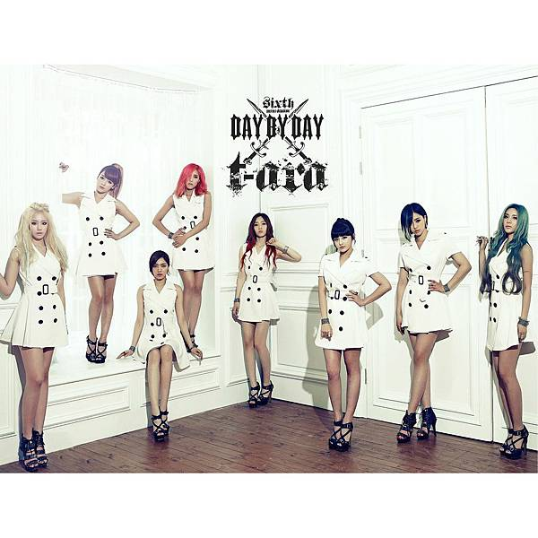 T-ARA《Day By Day》2012