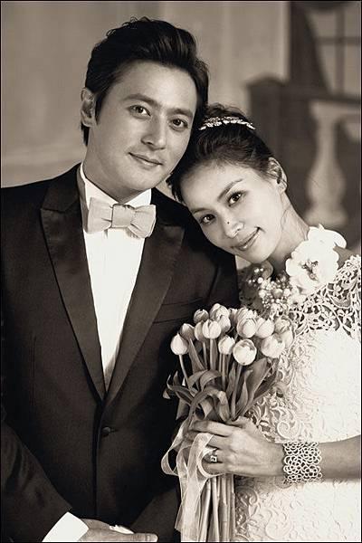 張東健 高素榮 結婚照