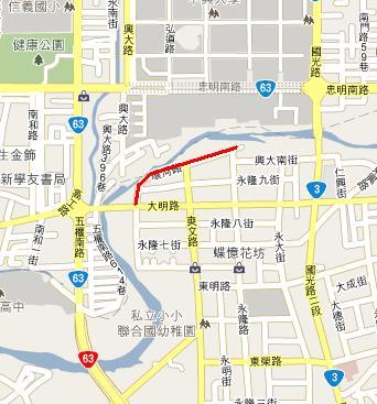 大里環河單車道路線圖.JPG