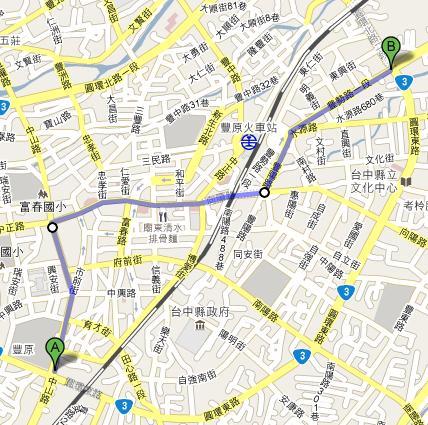 台3豐原舊線路線圖.JPG