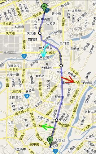 舊台3丁路線圖.JPG