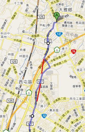 縣道127起點~台12路線圖.JPG