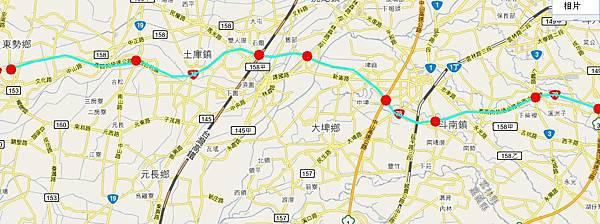 台78古坑系統~東勢路線圖.JPG