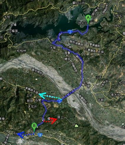 台3鯉魚潭~中44路線圖.jpg