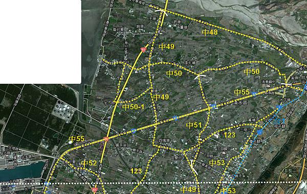 1961清水公路網-1