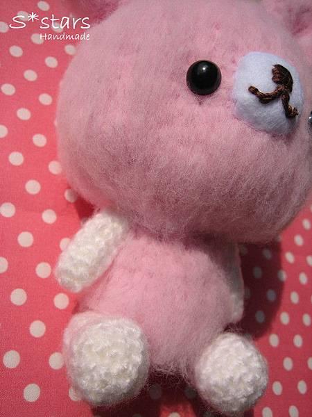 大頭柔柔粉兔寶寶3